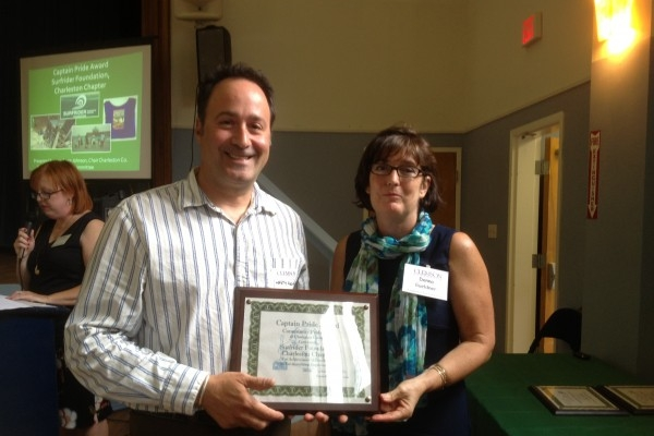Charleston Chapter Recognized by Community Pride, Inc. of Charleston County.